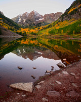 Maroon Bells Reflected