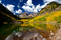 Maroon Bells in Yellow
