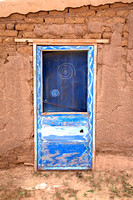 Blue Door, Indian Pueblo