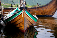 Viking Rowing Boat