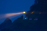 Heceta Head LIght in Fog